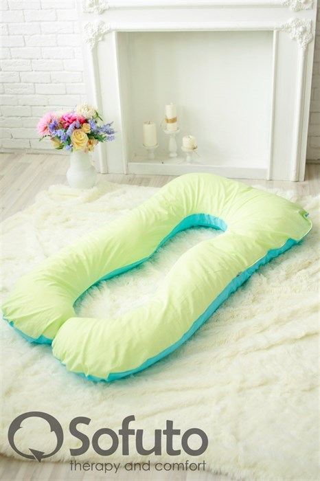 Подушка для беременных Sofuto UAnatomic Praline blue - фото 4870