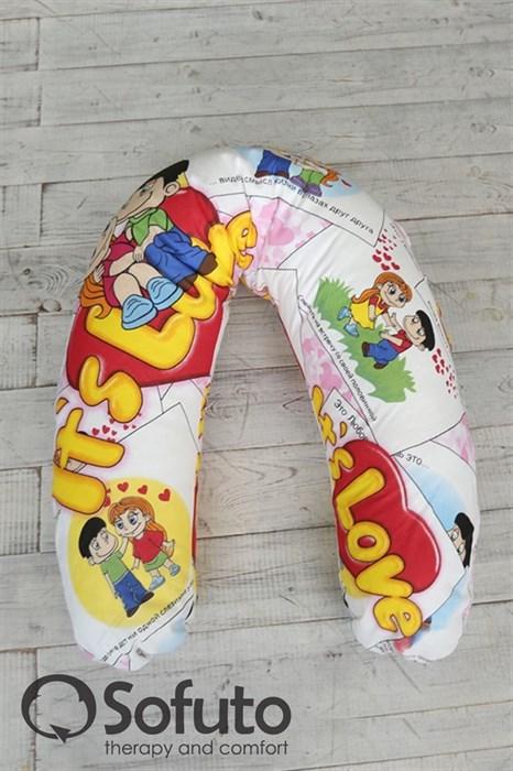 Чехол на подушку для беременных Sofuto ST Love is - фото 4927