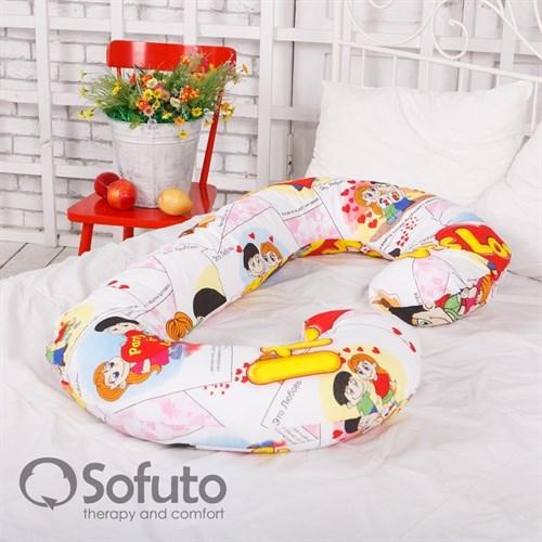 Чехол на подушку для беременных Sofuto CСompact Love is - фото 5027