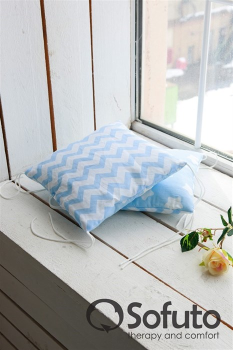 Комплект бортиков Sofuto Babyroom S2 Blue sky - фото 5073