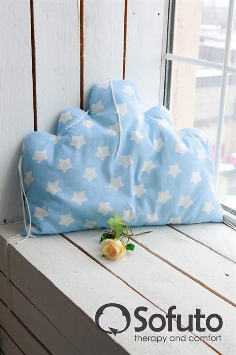 Бортик Sofuto Babyroom Cloud big Blue sky - фото 5088