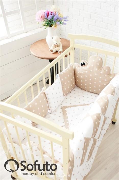 Комплект бортиков Sofuto Babyroom BCL-SCL-S8 Latte - фото 5130