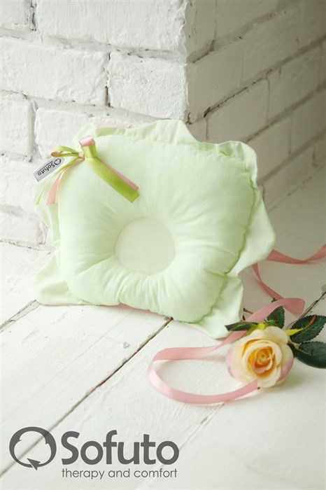 Подушка для новорожденного Sofuto Baby pillow Flower Ness - фото 5314