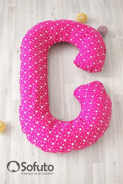 Чехол на подушку для беременных Sofuto CСompact Pinky - фото 5544