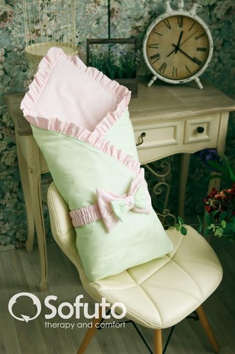 Конверт-одеяло на выписку Sofuto Praline Ness - фото 5751