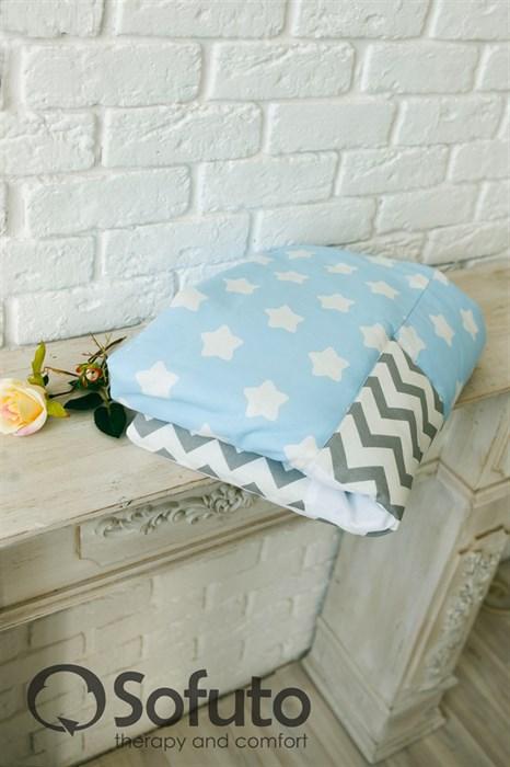 Одеяло стеганное Sofuto Babyroom Frosty morning - фото 5938
