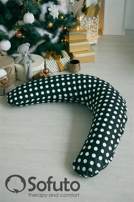 Подушка для беременных Sofuto ST Black dots - фото 6163