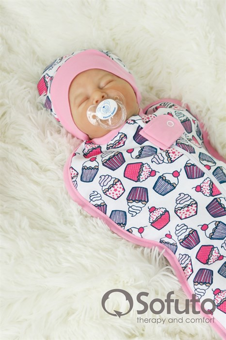 Шапочка Sofuto Baby сupcakes - фото 6653