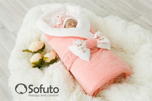 Комплект на выписку демисезонный (7 предметов) Sofuto baby Tea rose - фото 6876