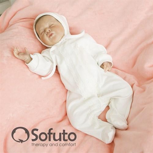 Комплект на выписку демисезонный (7 предметов) Sofuto baby Tea rose - фото 6877