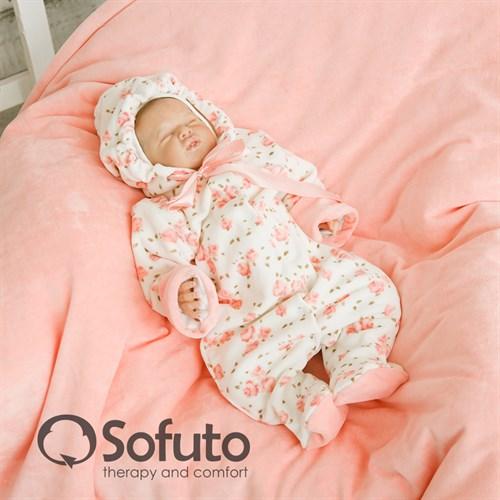 Комплект на выписку демисезонный (7 предметов) Sofuto baby Tea rose - фото 6878