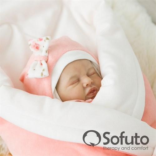Комплект на выписку демисезонный (7 предметов) Sofuto baby Tea rose - фото 6881