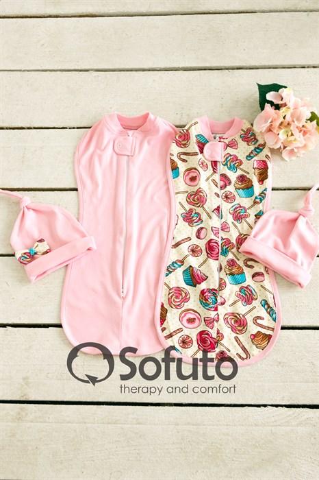 Комплект пеленок Sofuto Swaddler Delicious - фото 6981