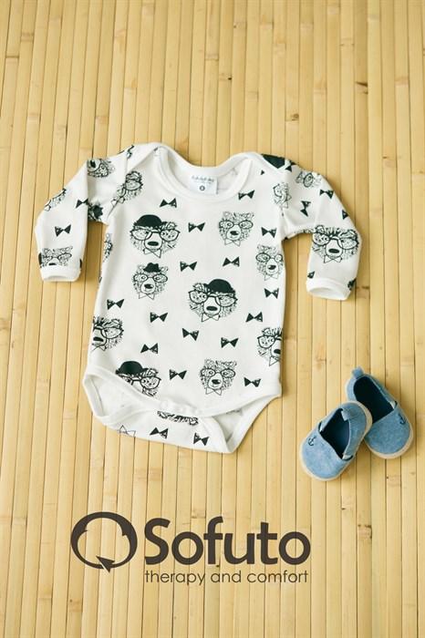 Боди детское Sofuto baby Mr bear - фото 7079