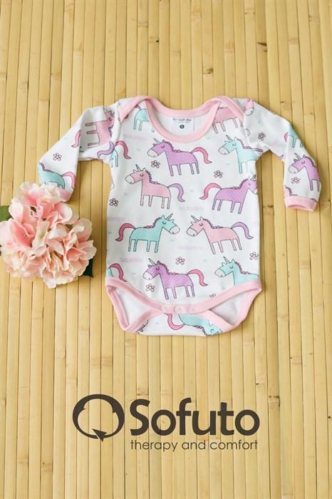 Боди детское Sofuto baby Unicorn - фото 7091