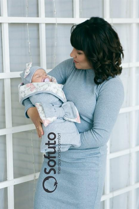 Комплект на выписку летний (5 предметов) Sofuto baby Vintage - фото 7110