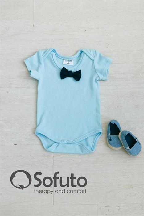 Боди детское Sofuto baby Light blue - фото 7365