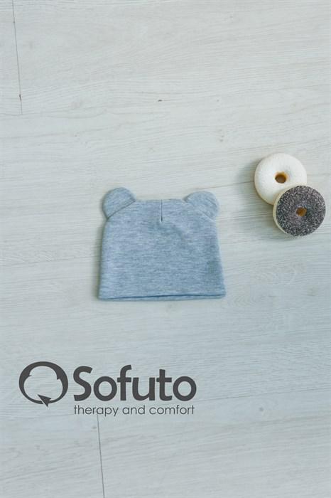 Шапочка Sofuto Baby Gray - фото 7376