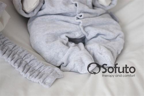 Комплект на выписку демисезонный (7 предметов) Sofuto baby Light grey - фото 7755