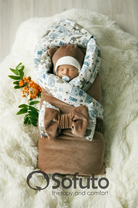Комплект на выписку демисезонный (7 предметов) Sofuto baby Teddy - фото 7777