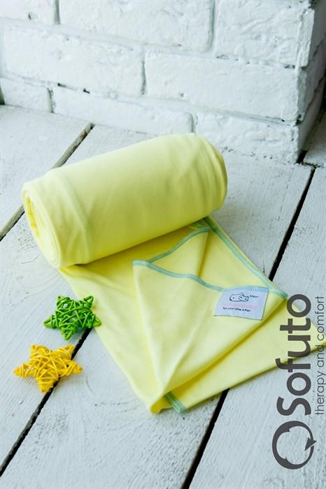 Слинг-шарф трикотажный Sofuto Babysling yellow - фото 7811