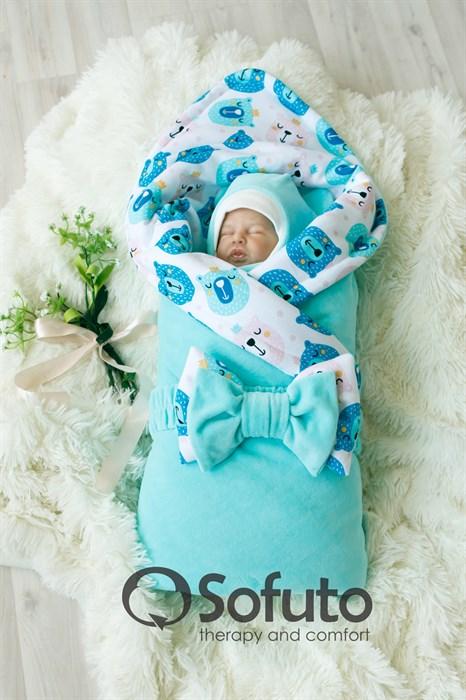Комплект на выписку демисезонный (7 предметов) Sofuto baby Osito - фото 7906