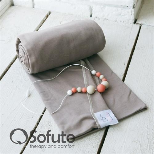 Слинг-шарф трикотажный Sofuto Babysling Сoffee - фото 7980