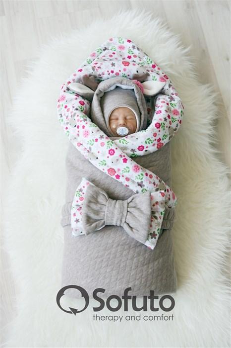 Комплект на выписку холодная зима (7 предметов) Sofuto baby Faline - фото 7989