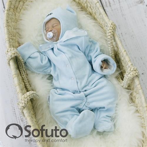 Комплект на выписку зимний (7 предметов) Sofuto baby Batman