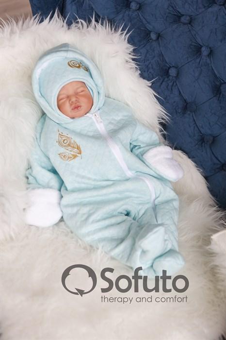 Комбинезон утеплённый на молнии Sofuto baby Pavlina - фото 8510