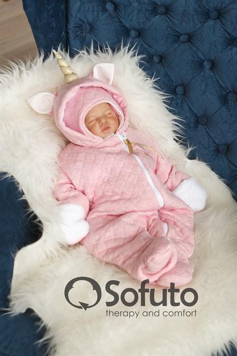 Комбинезон утеплённый на молнии Sofuto baby Magic unicorn - фото 8522