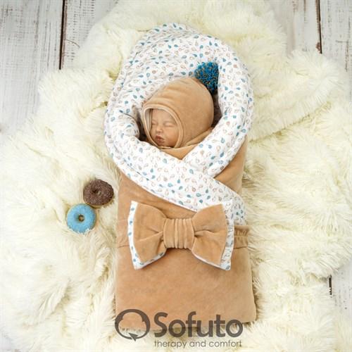 Комплект на выписку демисезонный (6 предметов) Sofuto baby Balloons - фото 9692