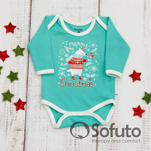 Боди детское Sofuto baby new year Moxito - фото 9933