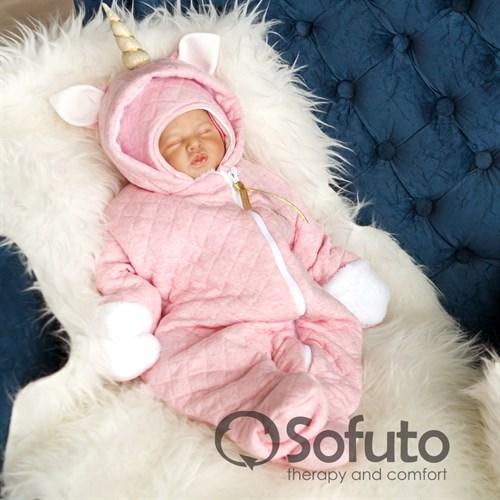 Комбинезон утеплённый на молнии Sofuto baby Magic unicorn - фото 9958
