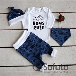 Комплект одежды 4 предмета Sofuto baby Army