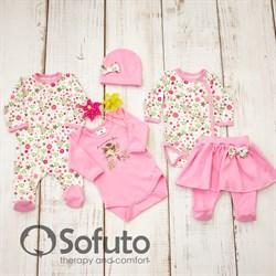 Комплект одежды 5 предметов Sofuto baby Flowers