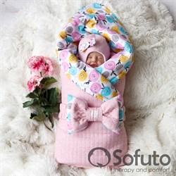 Комплект на выписку холодное лето plus (6 предметов) Sofuto Rosa dior