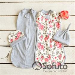 Комплект пеленок утепленный Sofuto Swaddler Vintage