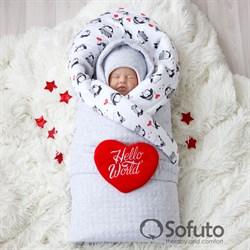 Комплект на выписку холодная зима (6 предметов) Sofuto baby lolo