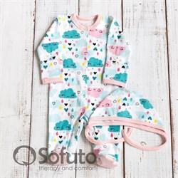 Комплект одежды первого слоя Sofuto baby Little girl