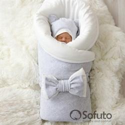 Комплект на выписку зимний (7 предметов) Sofuto baby Light grey