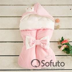 Конверт велюровый  для новорожденного Sofuto Rose