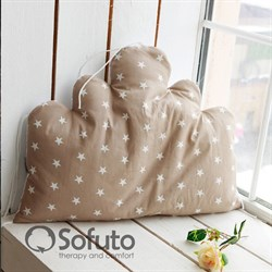 Бортик Sofuto Babyroom Cloud big Latte