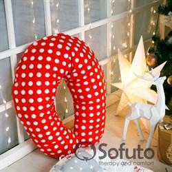 Подушка для беременных Sofuto ST Red dots