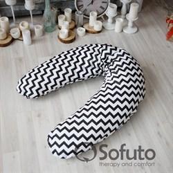 Подушка для беременных Sofuto ST Black waves