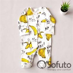 Слип на кнопках Sofuto baby Bananas