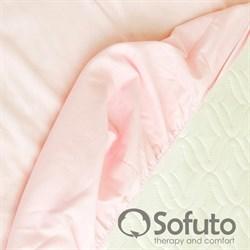 Простынь на резинке Sofuto Babyroom Praline rose