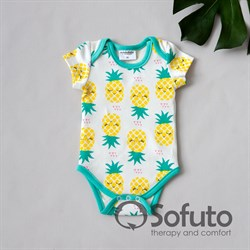 Боди короткий рукав Sofuto baby Pineapple