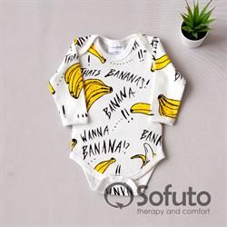 Боди детское Sofuto baby Bananas