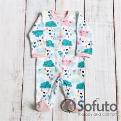 Слип на кнопках Sofuto baby Little girl